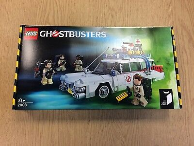 LEGO Ideas 21108 Ghosbusters Ecto-1 (2014)   New, Factory-Sealed, Unopened • 90£