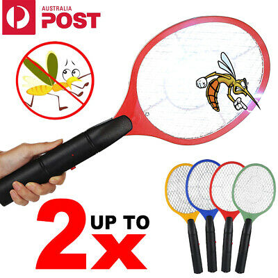 AU18.99 • Buy Electric Bug Zapper Tennis Racket Mosquito Fly Swatter Insect Killer Battery AUS