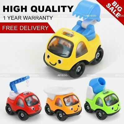 AU17.29 • Buy Mini Toy Cars Gifts Pull Back And Go Vehicles Set For Baby 1 2 3 Years Old 4PCS