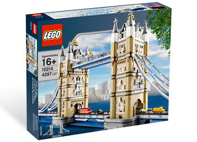 RETIRED! LEGO 10214 Creator Expert Tower Bridge  *NEW, Factory Sealed Box* • 284.90£