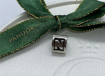 AU32 • Buy Pandora Charm Alphabet Initial Letter N #790323N Authentic Ale 925 Retired