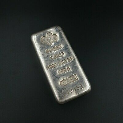 AU1576.75 • Buy PAMP 1KG Silver Bullion Bar With Free Post, Tracked And Insured.