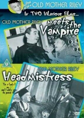 Old Mother Riley Meets The Vampire/Old Mother Riley Headmistress [DVD], Very Goo • 3.50£