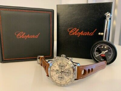 Limited Chopard Mille Miglia Chronograph Jacky Ickx 3 / Silver • 5,300£