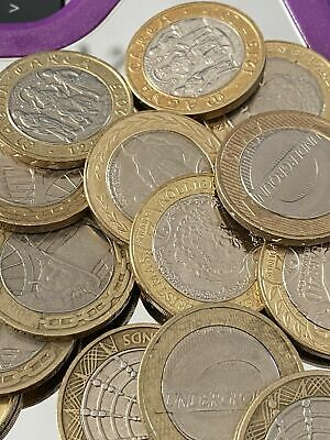 UK British Circulated £2 Two Pound Coins *MULTI LISTING* • 3.79£