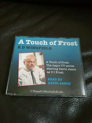 A Touch Of Frost By Wingfield, R. D. CD-Audio Book 3 Cds In VGC Great Gift.  • 6£