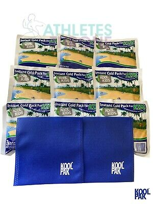 Koolpak Small Instant Kids Sports Ice Pack First Aid Muscle Sprains Injury Wrap • 5.49£