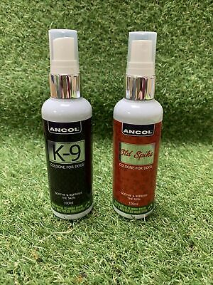 Ancol Dog Cologne Perfume K-9 & Old Spike • 13.98£