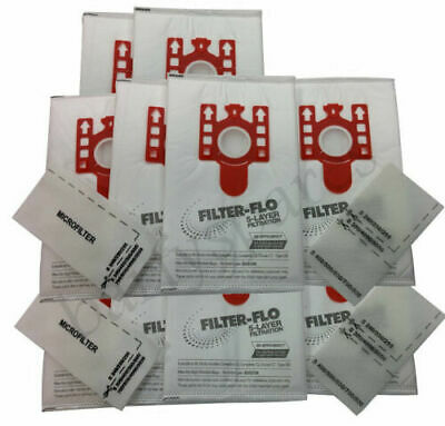 10  Dust Bags Air Fresheners & Filters  For MIELE FJM S6220 S6210 S6240 Vacuum • 8.99£