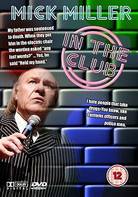 Mick Miller - In The Club Dvd  New And Sealed  • 4.99£