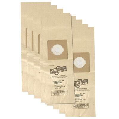 £9.75 • Buy 9 Dust Bags For Kirby Generation 4, 5, 6, 7 Diamond Ultimate G Vacuum Cleaner