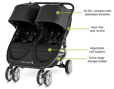 *LOWER PRICE!* Baby Jogger City Mini 2 Double Pushchair  • 175£