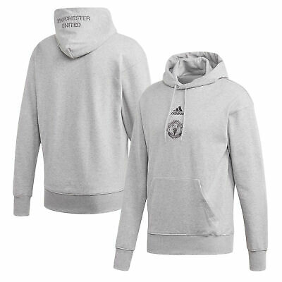 Adidas Manchester United SSP Sports Top Hoodie - Grey - Mens • 51.96£
