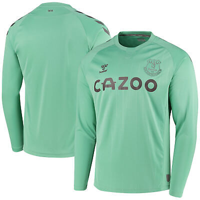 Hummel Everton Third Sports Training Shirt Tee Top 2020-21 - Long Sleeve • 24£