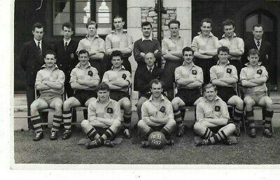 RPPC  1st X1 -1957  Unidentified Football Team  • 1.99£