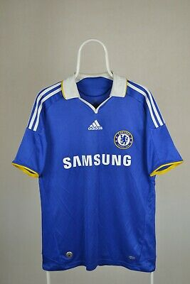 Chelsea London 2008/2009 Home Football Shirt Jersey Adidas Size M • 17.98£