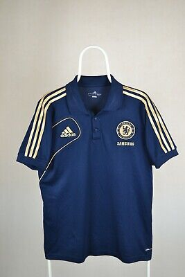 Chelsea London 2011/2012 Training Polo Football Shirt Jersey Adidas Size M • 7.98£
