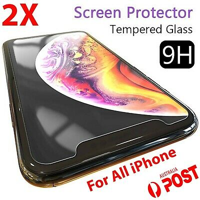 AU3.89 • Buy 2x IPhone 12 Screen Protector Tempered Glass 11 Pro XS Max XR 8 7 6 5 Plus 4 Ww