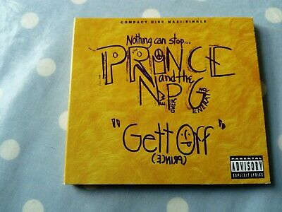 Prince And The New Power Generation Gett Off 7 Track Digipak CD (US Release) • 7.99£