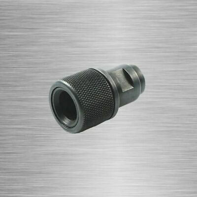 $37.98 • Buy Barrel End Threaded Adapter M8x.75 To 1/2-28 1/2-20 Protector Walter Black MP22