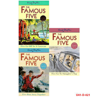 £14.99 • Buy Enid Blyton Famous Five Series 3 Books Collection Set NEW