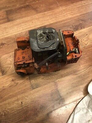 £37.95 • Buy Husqvarna 142 Petrol Chainsaw Engine Assembly Good Working Order
