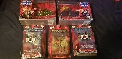 $250.50 • Buy Masters Of The Universe 200x Action Figure Lot Of 5 (2002)