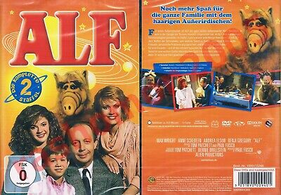 £19.99 • Buy DVD R2 ALF TV SERIES SECOND SEASON TWO Max Wright Andrea Elson Region 2 PAL NEW