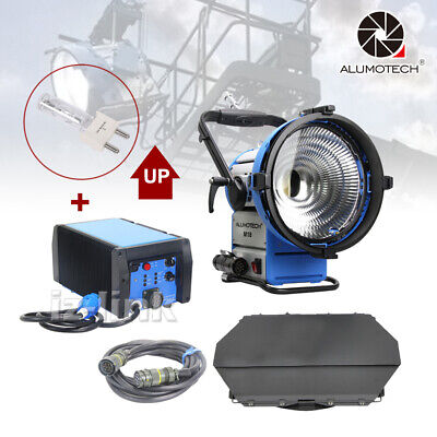 As M18 HMI Par Light+1800W&1200W E-Ballast Flicker Free+Cable+Bulb Light Kit • 1,859£