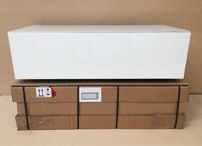Spectral Just-Racks JRL1100S Gloss White TV Cabinet RRP £699.00 • 399£