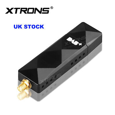 USB DAB+ Digital Radio Tuner Dongle Stick For XTRONS Android 9.0/8.1 Car Stereo • 39.99£