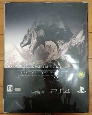 AU299 • Buy Monster Hunter: World  Collector's Edition (PS4, 2018) (Japanese Version)