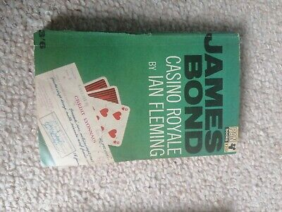 James Bond Casino Royale By Ian Fleming Paperback Book Pan 1955 Edition • 3£