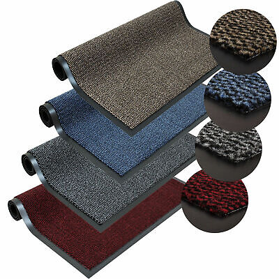 Heavy Duty Non Slip Rubber Barrier Mat Large & Small Rugs Back Door Hall Kitchen • 8.99£