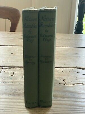 Nature Rambles By Edward Step - Both Editions - Vintage/antique Books • 15£