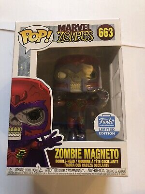 Zombie Magneto Funko Pop! Vinyl Limited Edition Brand New #663 • 20£