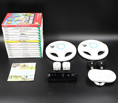 Nintendo Wii Games / Accessories - *Multi-Listing* - Select An Item - Free P&P • 19.97£