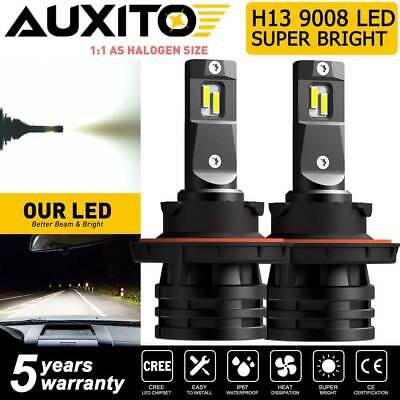 $32.99 • Buy AUXITO 140W H13 9008 LED Headlight Bulbs High Low Beam Super Bright M2Plus Serie