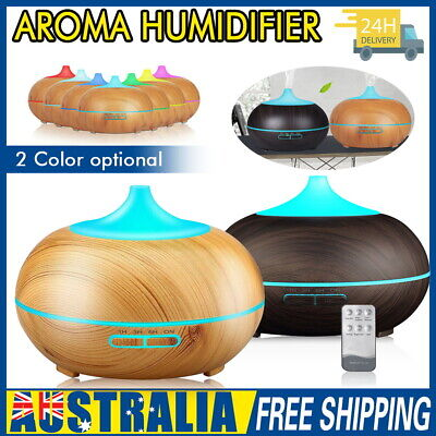 AU28.59 • Buy Aroma Aromatherapy Diffuser LED Essential Oil Ultrasonic Air Humidifier Purifier
