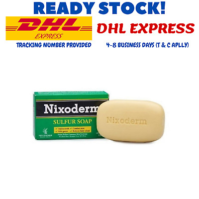 £32.30 • Buy 3 X Nixoderm Sulfur Soap Protect Skin From Bacterial And Kills Germs EXPEDITE