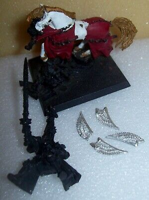 Warhammer Fantasy / Age Of Sigmar High Elf Metal Lord Tyrion On Horse • 8.50£