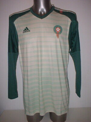 £39.99 • Buy Morocco Goalkeeper Africa Nations Adidas Adult Large BNWT Shirt Jersey Soccer
