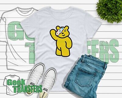 Children In Need - T-shirt 2020 UK Seller-  BBC Charity Pudsey Bear - Adults Kid • 13.99£