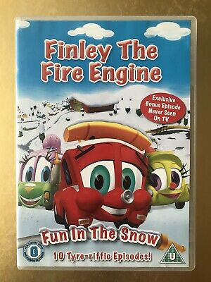 Finley The Fire Engine - Fun In The Snow (DVD, 2008) Good Condition! • 1.51£