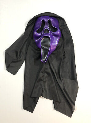 $ CDN89.99 • Buy Vintage Scream Mask Ghost Face Easter Unlimited Metallic Purple Rare