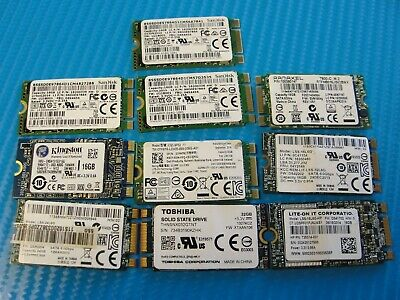 $ CDN78.55 • Buy LOT Of 10 M.2 2280 NVMe Laptop SSD Solid State Drive Mix SanDisk Kingston LiteOn
