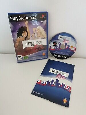 Singstar Rock Ballads PS2 Game Only • 2.10£