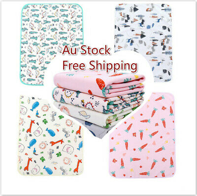 AU13.95 • Buy    50*70 Cm Large Baby Change Mat Waterproof Reusable Nappy Diaper Changing Pad