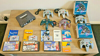 AU167.50 • Buy Nintendo 64 Console Lot Bulk With Games N64 Controllers VR-ESPECIAL CONTROLLER