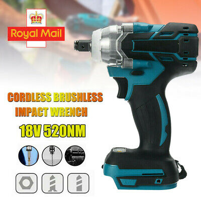 Torque Impact Wrench Brushless Cordless Replacement For Makita Battery DTW285Z 1 • 27.99£